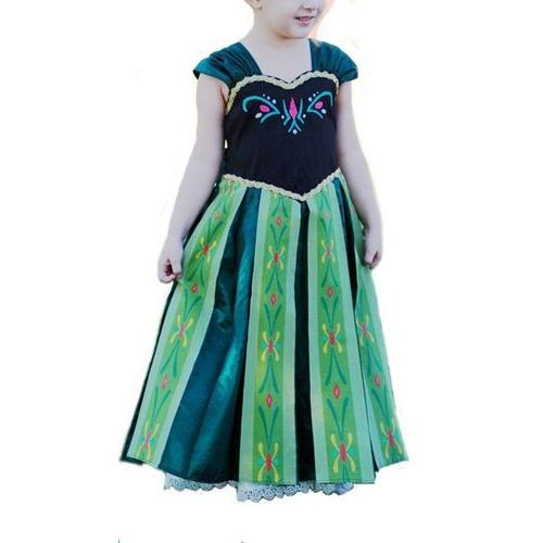 Disney Animated Frozen Anna and Elsa Costume