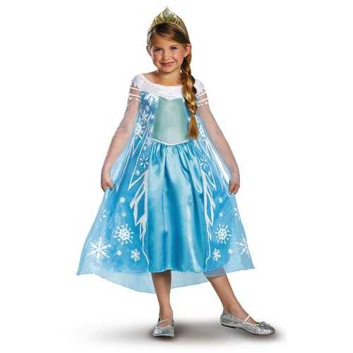 Frozen Elsa Deluxe Girl's Costume