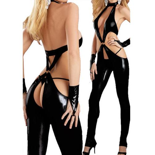Fetish Vinyl Pant Set