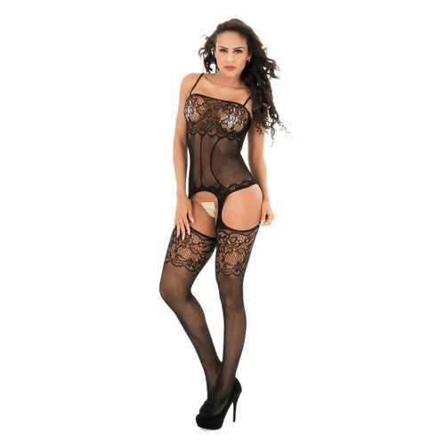 Women Intimate Lace Detail Bodystocking