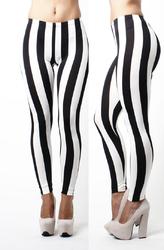 Stripe Woman Legging