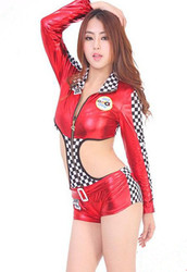 Sexy Racing Girl Cosplay Costume