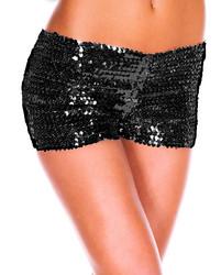 Black Sequin Panties