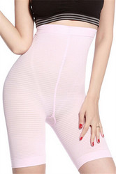 Comfortable High Waist Sexy Body Sculpting Boyshort Pink