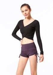 Drawstring Peach Shorts Running Hips Hot Pants Women Yoga Shorts Fitness Shorts