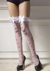 New arrival Heart Stockings With Tie