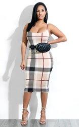 women sleeveness low collar sexy striped bodycon dress
