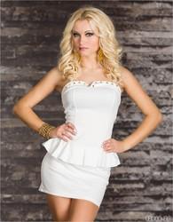 White Sexy Dress Clubwear