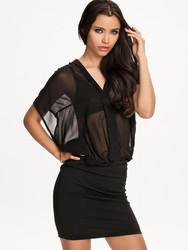 Wholesale Chiffon See-Through Top New Ladies Dress
