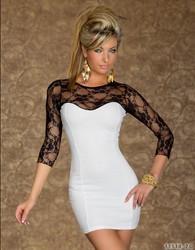 Fashion Lace Dress White
