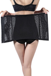 Black Postpartum Slimming Body High Waist Shaper