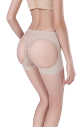 Sexy Butt Lifter Women Cutout Shapewear Apricot