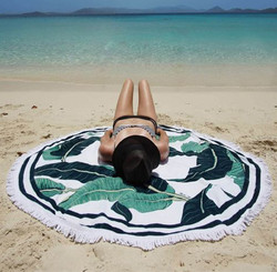 The Santa Barbara Round Towel