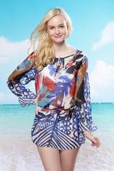 Gauzy Artistic Beach Dress