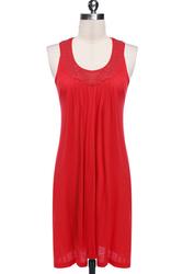 Red hot sale beach dress