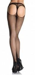 Black sexy mesh stocking