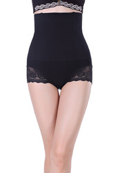 Black SexyWomen Seamless High Waist FlashLift Postpartum Shapewear