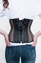 Brown Steampunk Corset