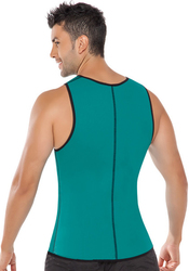 Hot Sale Fashion Zip On The Front Corset For Man
