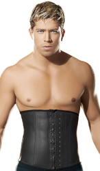 New Arrival Black Under Bust Shaping Corset For Man