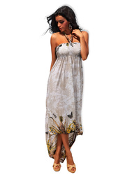 Like An Angel Special Design Long Dress White