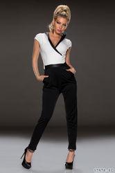 Wholesale Leather Collar Adult jumpsuit pajama