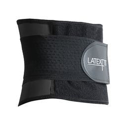 New Design Women Rubber Corset Black