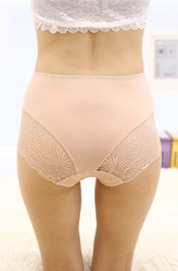 Aprioct Lace Floral Seamless Panty
