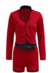 Fashion Red Sexy Women Suits