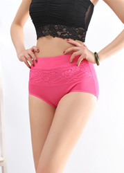 Bodybuilding High Waist Lifter Cotton Shapewear Rosy
