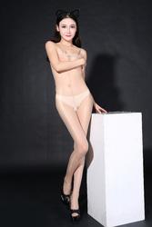 Nude Sheer Solid Hammock One-piece Baby Stocking