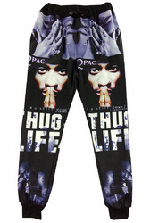 Wholesale Fashion Character & letter printed Jogger Pants