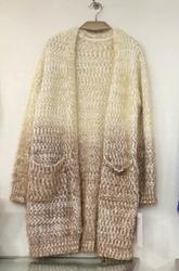 Wholesale Fashion Europe Mohair Sweaters Coat