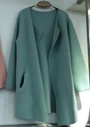 Blue Sweater Coat