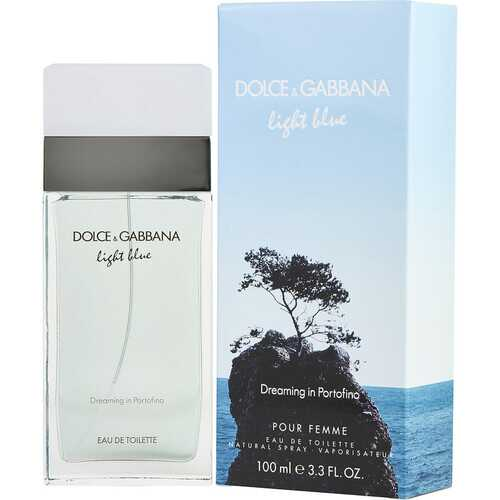 D & G LIGHT BLUE DREAMING IN PORTOFINO by Dolce & Gabbana (WOMEN)