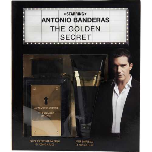 ANTONIO BANDERAS THE GOLDEN SECRET by Antonio Banderas (MEN)