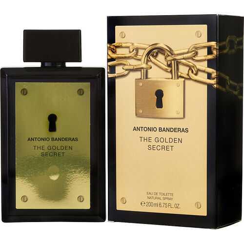 ANTONIO BANDERAS THE GOLDEN SECRET by Antonio Banderas (MEN)