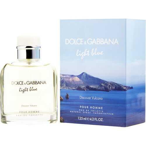 D & G LIGHT BLUE DISCOVER VULCANO POUR HOMME by Dolce & Gabbana (MEN)