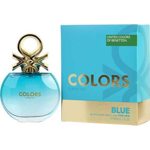 COLORS DE BENETTON BLUE by Benetton (WOMEN)
