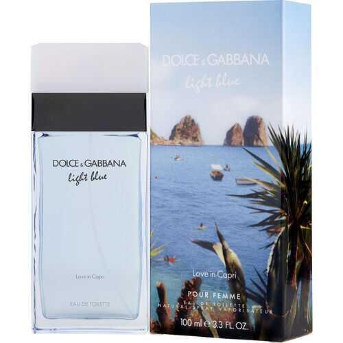 D & G LIGHT BLUE LOVE IN CAPRI by Dolce & Gabbana (WOMEN)