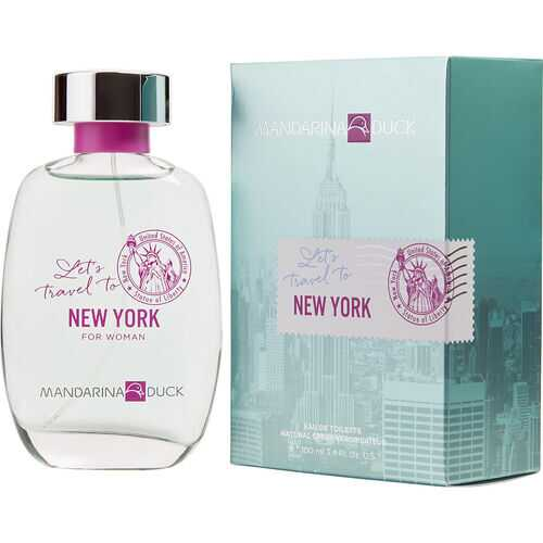 MANDARINA DUCK LET'S TRAVEL TO NEW YORK by Mandarina Duck (WOMEN)