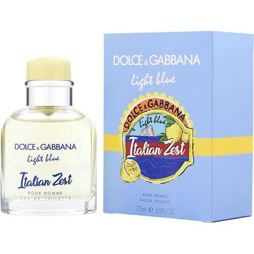 D & G LIGHT BLUE ITALIAN ZEST POUR HOMME by Dolce & Gabbana (MEN)