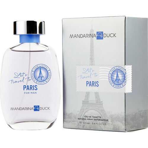 MANDARINA DUCK LET'S TRAVEL TO PARIS by Mandarina Duck (MEN)