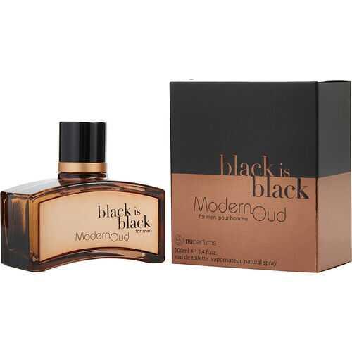 BLACK IS BLACK MODERN OUD by Nuparfums (MEN)