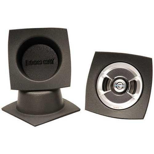 DEI Boom Mat Speaker Baffles 5.25 Round Slim Pack of 2
