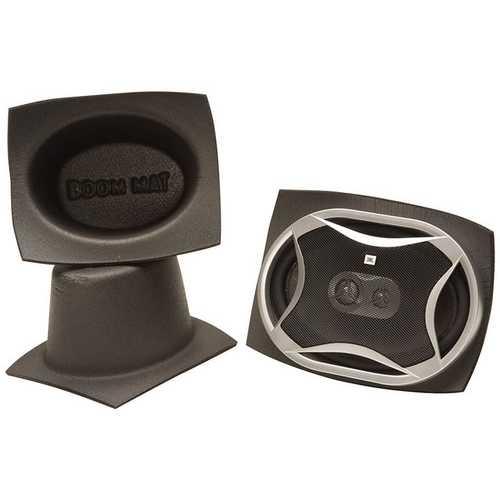 DEI Boom Mat Speaker Baffles 6 x 9 Oval Pack of 2