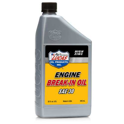 1 = 6 Bottles Lucas Oil SAE 30 Break In Oil 1 Quart