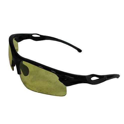 M&P Harrier Shooting Glasses Interchangeable Lens Smoke Mirrored Clear Vermillion Amber