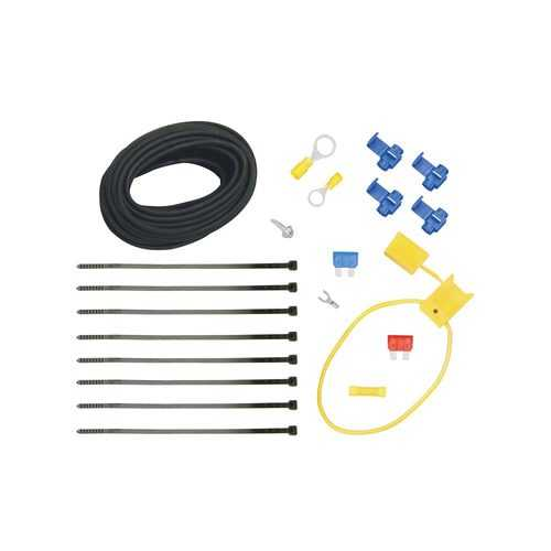 Tekonsha Wiring Kit for Installing ModuLite Power Modules Includes 20 ft Undercar Wire Fuse Holder