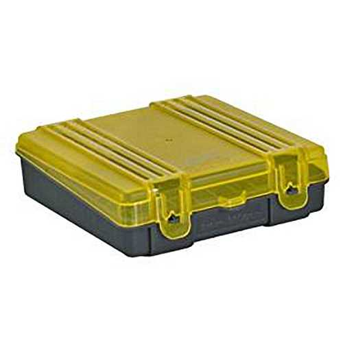 Plano 100 Count Handgun Ammo Case w hinged cover  Holds 9mm380acp caliber bullets